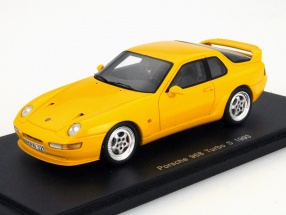 Porsche 968 Turbo S Baujahr 1993 gelb 1:43 Spark