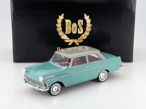 Opel Rekord P2 Year 1961 lime / light gray 1:18 BoS-Models