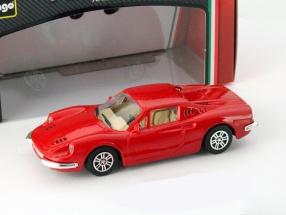 Ferrari Dino 246 GT red 1:43 Bburago