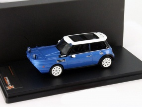 Mini Cooper S Yachtsman Year 2012 blue / white 1:43 Premium X