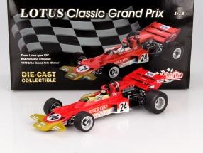 E. Fittipaldi Lotus Typ 72C #24 Winner USA GP Formula 1 1970