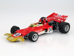E. Fittipaldi Lotus Typ 72C #24 Winner USA GP Formula 1 1970 1:18 Quartzo