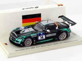 Mercedes-Benz SLS AMG GT3 Black Falcon #14 24h Nürburgring 2014 1:43 Spark