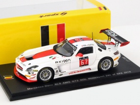 Mercedes-Benz SLS AMG GT3 GDL Racing #67 24h Spa 2014 1:43 Spark