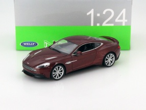 Aston Martin Vanquish bronze metallic 1:24 Welly