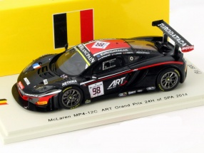 McLaren MP4-12C #98 24h Spa 2014 ART Grand Prix 1:43 Spark