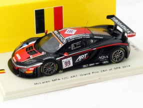 McLaren MP4-12C #99 24h Spa 2014 ART Grand Prix 1:43 Spark