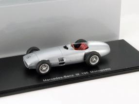 Mercedes-Benz W 196 Monoposto silver 1:43 Spark