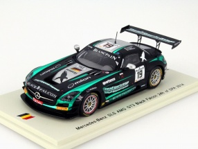Mercedes-Benz SLS AMG GT3 Black Falcon #19 24h Spa 2014 1:43 Spark