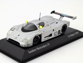 Mercedes-Benz Sauber C9 #63 Winner 24h LeMans 1989 1:43 Minichamps