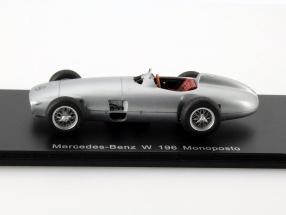 Mercedes-Benz W 196 Monoposto silver