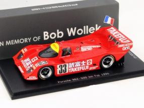 Porsche 962 #33 500 km Fuji 1990 Wollek, Herbert 1:43 Spark