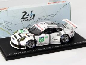 Porsche 911 (991) RSR #92 24h LeMans 2014 1:43 Spark