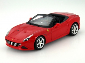 Ferrari California T open Year 2014 red 1:18 Bburago