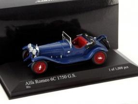 Alfa Romeo 6C 1750 G.S. Year 1930 blue 1:43 Minichamps