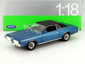 Mercury Cougar XR7 Year 1970 blue 1:18 Welly
