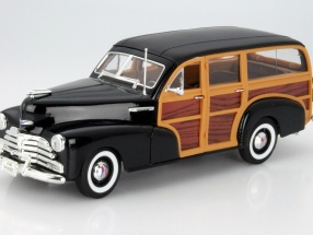 Chevrolet Fleetmaster Year 1948 black 1:18 Welly