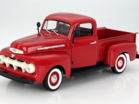 Ford F-1 Pick Up Year 1951 red 1:18 Welly
