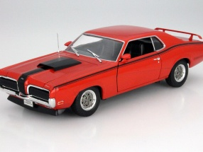 Mercury Cougar Eliminator Year 1970 orange 1:18 Welly