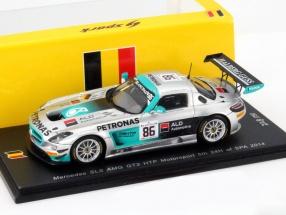Mercedes-Benz SLS AMG GT3 #86 5th 24h Spa 2014 HTP Motorsport 1:43 Spark