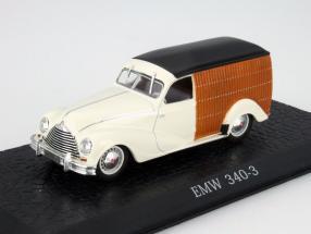 EMW 340-3 Truck weiß / schwarz / braun 1:43 Atlas