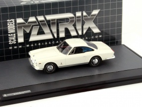 Lancia Flaminia 3C 2.8 Speciale Pininfarina Year 1963 white 1:43 Matrix