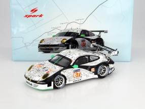 Porsche 911 (997) GT3 RSR #67 24h LeMans 2014 IMSA Performance Matmut 1:18 Spark