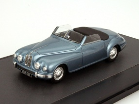 Bristol 402 DHC Year 1949 blue metallic 1:43 Matrix