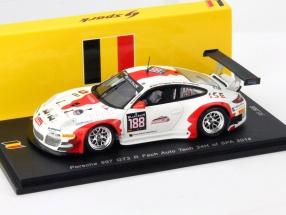 Porsche 997 GT3 R #188 24h Spa 2014 Fach Auto Tech 1:43 Spark