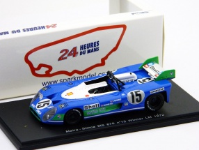 Matra -Simca MS670 #15 Pescarolo, Hill Winner 24h LeMans 1972 1:43 Spark