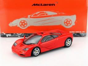 McLaren F1 Road Car Baujahr 1993 rot 1:18 Minichamps