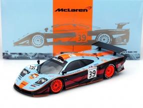 McLaren F1 GTR #39 24h LeMans 1997 Gulf Team Davidoff 1:18 Minichamps