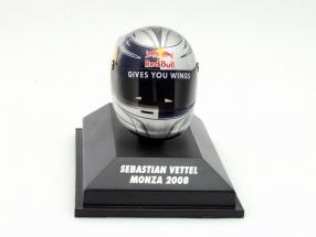 S. Vettel Scuderia Toro Rosso GP Monza Formel 1 2008 Helm 1:8 Minichamps