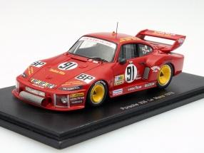 Porsche 935 #91 24h LeMans 1978 Garretson, Earle, Akin 1:43 Spark