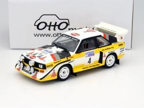 Audi Quattro S1 #4 RAC Lombard Rally 1985 1:18 OttOmobile