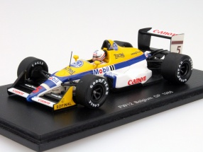 Martin Brundle Williams FW12 #5 Belgium GP Formula 1 1988 1:43 Spark