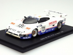 Spice SE87C #131 24h LeMans 1988 Graff Racing 1:43 Spark