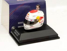 S. Vettel Red Bull GP Suzuka Formula 1 World Champion 2010 Helmet 1:8 Minichamps