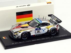BMW Z4 GT3 #26 24h Nürburgring 2014 BMW Sports Trophy Team Marc VDS 1:43 Spark