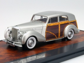 Bentley Harold Radford Countryman Saloon silver 1:43 Matrix