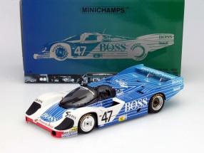 Porsche 956L Boss #47 24h LeMans 1984 Lässig, Fouche, Graham 1:18 Minichamps