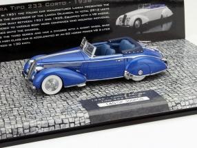 Lancia Astura Tipo 233 Corto Baujahr 1936 blau 1:43 Minichamps