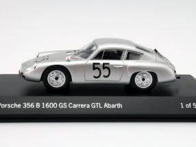 Porsche 356 B 1600 GS Carrera GTL Abarth #55 1:43 Spark