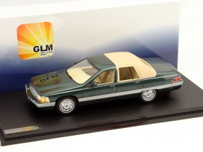 Buick Roadmaster Year 1994 dark green 1:43 GLM