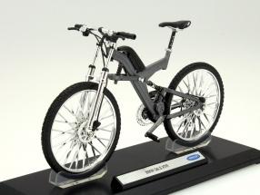 Fahrrad BMW Q6.S XTR grau 1:10 Welly