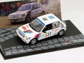 Peugeot 205 GTI #27 Rallye Isola d Elba 1985 1:43 Altaya