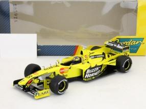H. H Frentzen Jordan 199 4. Place Formula 1 1998 1:18 HotWheels
