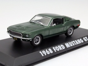 Ford Mustang GT Steve McQueen out the Movie Bullitt 1968 green metallic 1:43 Greenlight