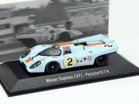 Porsche 917K #2 Winner 24h Daytona 1971 Rodriguez,Oliver 1:43 Spark