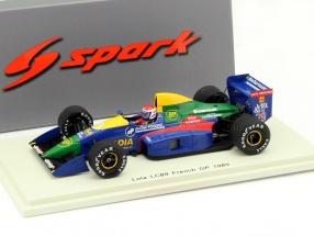 Eric Bernard Lola LC89 #29 France GP Formula 1 1989 1:43 Spark